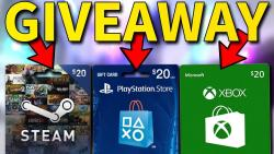 GIFTCARDS GIVEAWAY (500xCARDS)