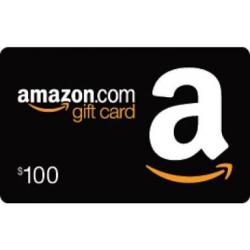 Amazon $100 Gift Card Giveaway-2018.