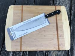 Chef Knife And Cutting Board