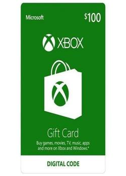 Xbox One Gift Card $100 (Email Delivery)