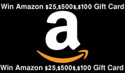 Win Amazon Gift Card Giveaway (Updated This Month)