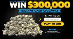 Play For A Chance To Win $300,000