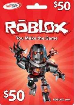 Roblox $50 Gift Card Code