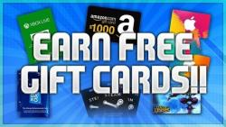FREE GIFTCARDS. ENTER NOW