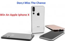 Win The New Apple IPhone X.