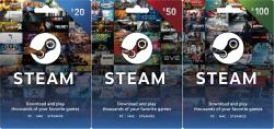 Free Steam Wallet Gift Card [Giveaway] 2018.