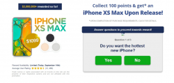 Get Rewards - IPhone Xs Max For Free