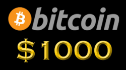Get $1,000 In Bitcoin