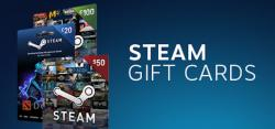 Win Free Steam Wallet Gift Card