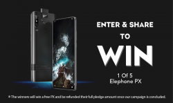 Win A FREE Elephone PX