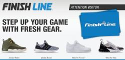 $500 In Finish Line Gift Cards!