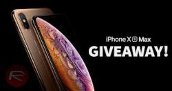 GIVEAWAY IPHONE XS MAX