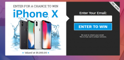 Win Free IPhone X Giveaway!
