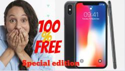 Win Brand New Iphone X From Limited Edition