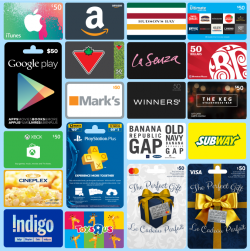 Gift Cards Giveaway 2019