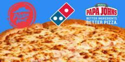 Review And Keep A Papa John's Vs. Dominos Giveaway 2019