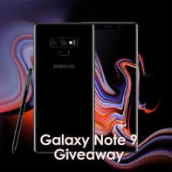 Review And Keep A Samsung Galaxy Note 9 Giveaway 2019