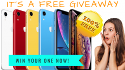 Win A Brand New Apple Iphone XS Limited Edition [free].