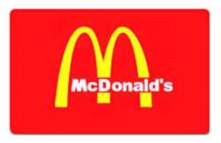 McDonalds Gift Card Giveaway
