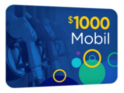 Get A $1,000 Mobil Gift Card