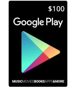 Google Play Giveaway Free Gift Cards $100!