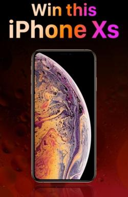 Win A Brand New Apple Iphone XS !Limited Edition [us]!%!