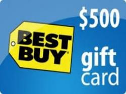 Get A $500 Best Buy Gift Card 2019