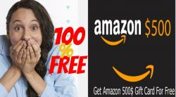 Win A Brand Amazon Gift Card Limited Edition !