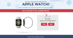 Collect 100 Point And GET AN APPLE WATCH !