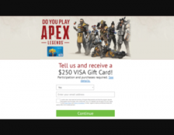 Click Here And Win $250 Worth Of APEX Credit!