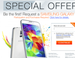 Want The Samsung Galaxy S5?