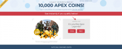 Get 10,000 APEX Coins Now