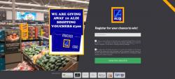 Get £300 To Spend At Aldi Now!