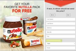 Get Free The Best Nutella Package