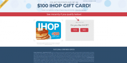 Get A $100 IHop Gift Card
