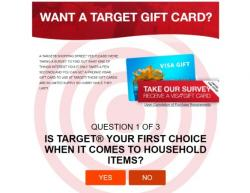 Get A Target Gift Card Now