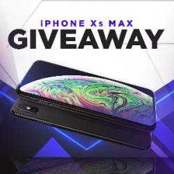 Win An IPhone XS Max (256GB) With Us.