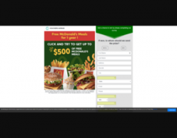 Your Chance To Win Up To $500 Worth Of McDonald's Meals