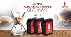 Megaton Coffee Giveaway - High Caffeine And High Flavor