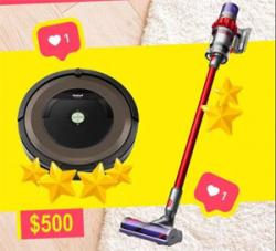 Win A Vacuum Cleaner!