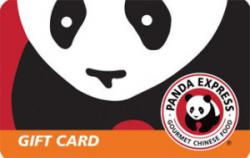 Win A $100 Panda Express Gift Card.