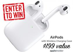 Enter To Win Two Sets Of Apple AirPods - Cult Of Mac.