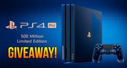 Get PS4 Console Giveaways Online - Win Free PS4 Console!!