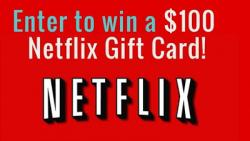 Netflix Gift Cards Giveaway Enter Now For A Chance To Win 100$