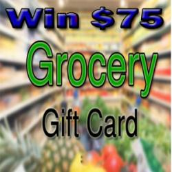 Get A $75 Grocery Gift Card