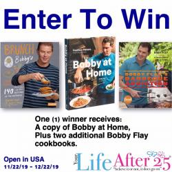 Bobby Flay Cookbook Prize Pack
