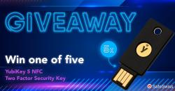 YubiKey 5 NFC Two-factor Authentication Key