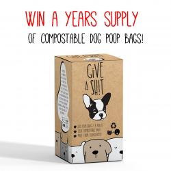 A Years Supply Of Compostable Dog Poop Bags