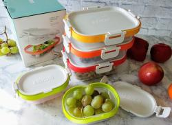 11-pc Neat Stack Food Storage Containers