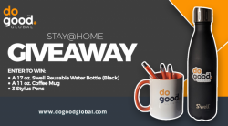 DoGood Global: STAY@HOME GIVEAWAY